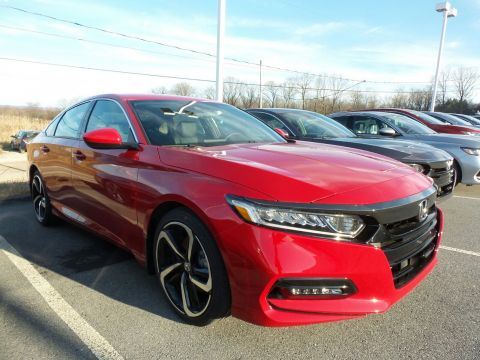 New Honda Accord Sedan Sport