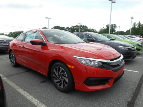 New Honda Civic Coupe LX-P