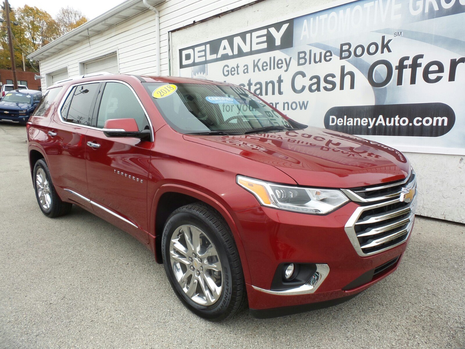 Certified Pre-Owned 2018 Chevrolet Traverse High Country