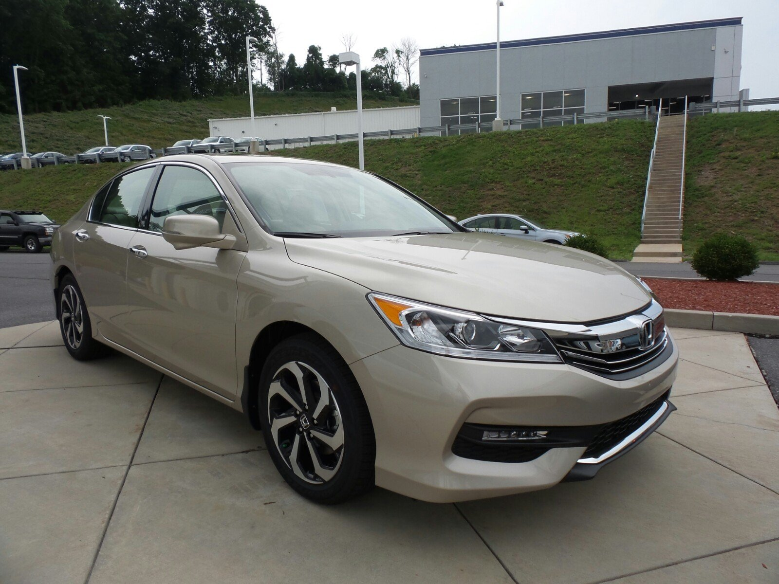 New 2017 Honda Accord Sedan EX L V6 4dr Car in Indiana PA