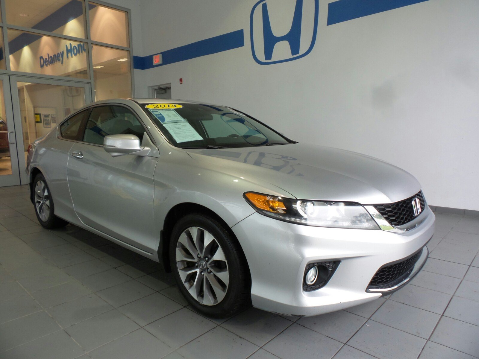Pre Owned 2014 Honda Accord Coupe EX L