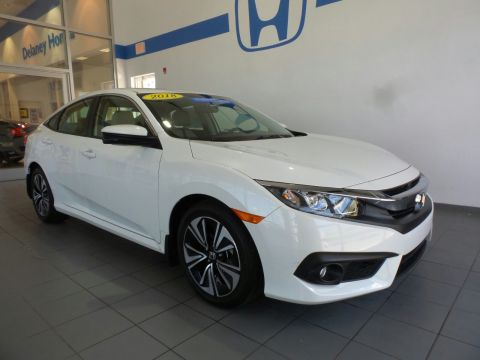 Certified Pre-Owned 2018 Honda Civic Sedan EX-T